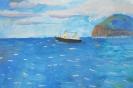 Рисунки учащихся Детской школы искусств п. Вулканный